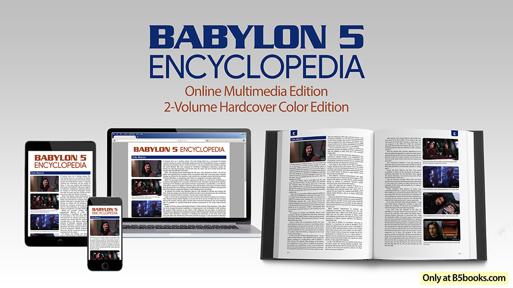 Babylon 5 Encyclopedia, Online Multimedia Edition and 2-Volume Hardcover Color Edition