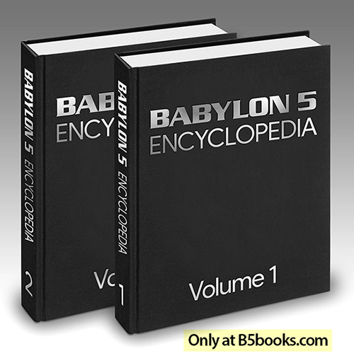 Babylon 5 Encyclopedia, 2-Volume Hardcover Color Edition