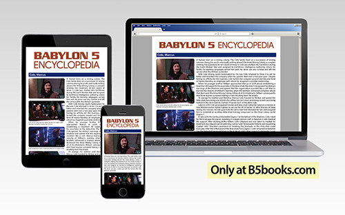Babylon 5 Encyclopedia, Online Multimedia Edition